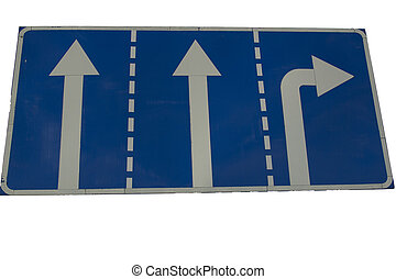 - road sign