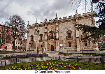 Palacio de Santa Cruz, Valladolid University, Spain.