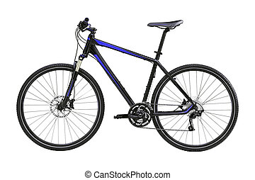 mountain bike isolated