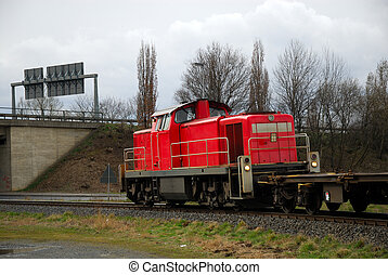 freight train - Small freight train