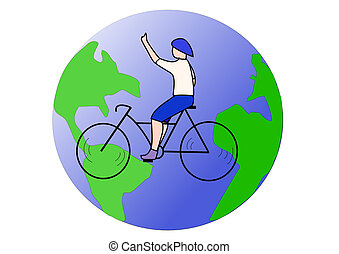 Travel and bicycle