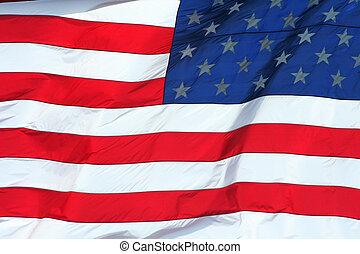 US Flag macro background - A US Flag macro background