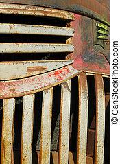 rust bucket pick-up - vintage rust bucket pick-up truck...
