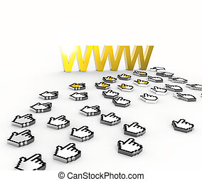 Internet golden World Wide Web
