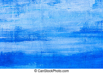 Blue grunge wall texture useful as background - Blue grunge...