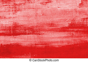 Red grunge wall texture useful as background