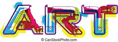 Art. Vector illustration
