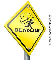 deadline time pressure