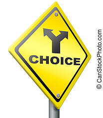 choice decision choose indecisive