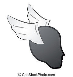 Head fly icon