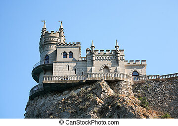 Castle On The Rock - Beautiful small castle named Swallow...