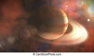 Wide of Saturn with rings & Planets - Wide of Saturn with...