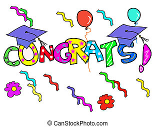 Congratulation - Graduation day