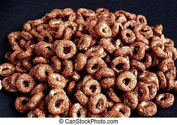 Chocolate breakfast cereal - chocolate breakfast cereal made...