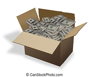 Money in a Box.