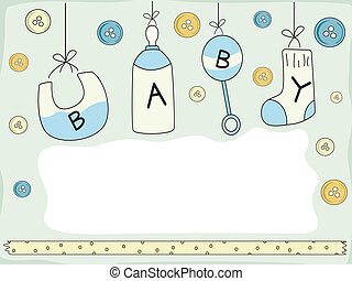 Baby Card Design - Card Design with a Baby Theme