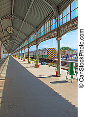 Maputo train station in Mozambique