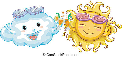 Sun and Cloud Toast