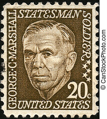 US stamp - USA - CIRCA 1967: A stamp printed in USA shows...