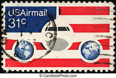 US stamp - UNITED STATES - CIRCA 1976: stamp printed in...