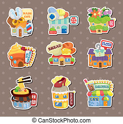 shop house stickers