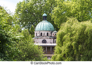 A church in Potsdam Germany on UNESCO World Heritage list