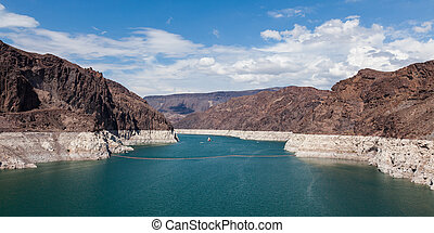 Hoover Dam, between Arizona and Nevada - USA