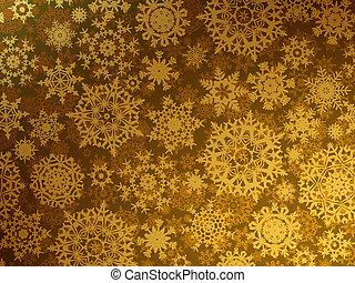 Golden elegant christmas template. EPS 8
