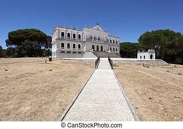Palace of Acebron in Donana National Park, Andalusia Spain