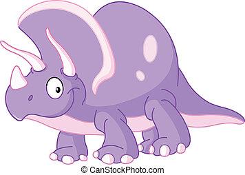 Triceratops dinosaur