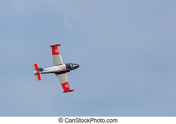Jet Provost T5 at Airbourne