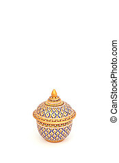 Chinaware - chinaware on white background