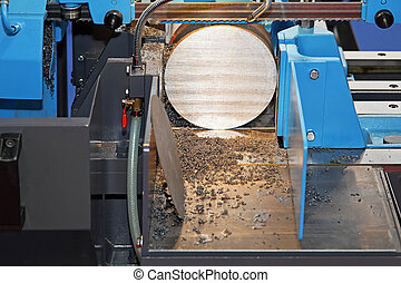 Automatic band saw - Automatic metal cutting band saw...