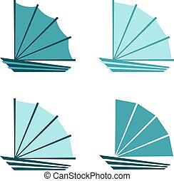 Boat icons/logo
