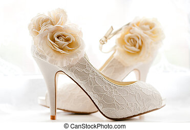 Bridal shoes - Stylish and elegant bridal wedding shoes