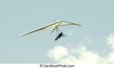 Hang Glider 04 - Hang gliding high above the Columbia Valley...