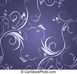 Ornamental background Vector illustration
