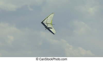 Hang Glider 08 - Hang gliding high above the Columbia Valley...