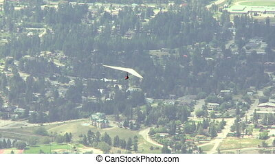 Hang Glider 10 - Hang gliding high above the Columbia Valley...