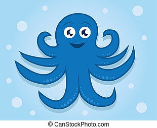 Octopus Character