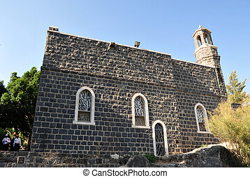 Travel Photos of Israel - Sea of Galilee - Church of the...