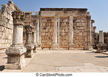 Travel Photos of Israel - Sea of Galilee - Ancient synagogue...