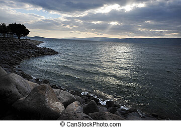 Travel Photos of Israel - Sea of Galilee - General view...