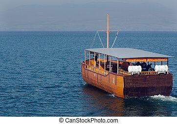 Viagem, fotografias, Israel, -, mar, Galilee