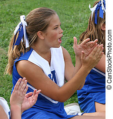 Cheerleader Cheering 3