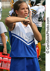 Cheerleader Cheering 2