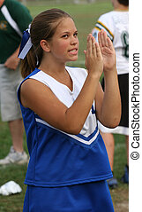 Cheerleader Cheering 4