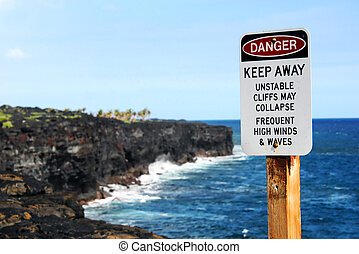Dangerous Cliffs - Hawaii Volcanoes National Park has posted...