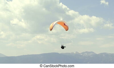 Paraglider 10 - Paragliding high above the Columbia Valley...