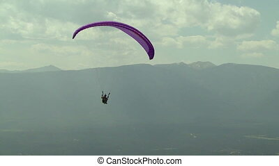Paraglider 11 - Paragliding high above the Columbia Valley...